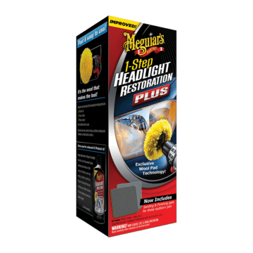 Meguiars 1-Step Headlight Restoration Plus
